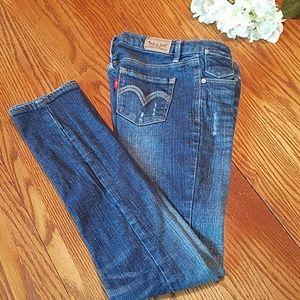 Girl's Levi skinny jeans